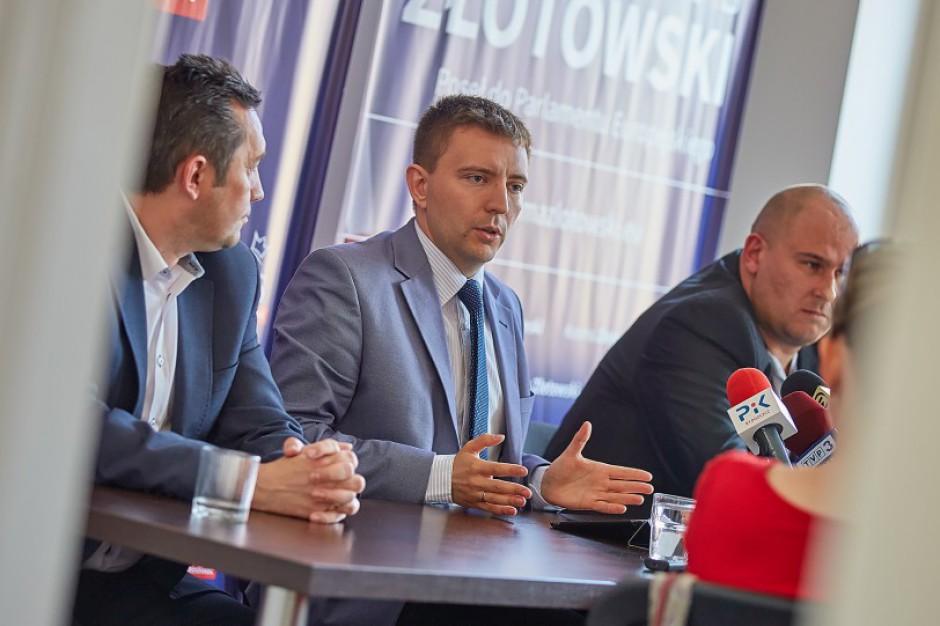 Poseł Łukasz Schreiber chciał odebrać kierownikom i ich zastępcom jednostek samorządu terytorialnego ekwiwalent za niewykorzystany urlop wypoczynkowy (fot.arch.posła)