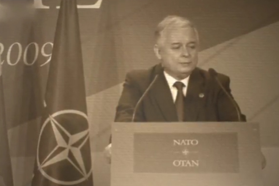 MON zaprasza na uroczystość odsłonięcia pomnika Lecha Kaczyńskiego