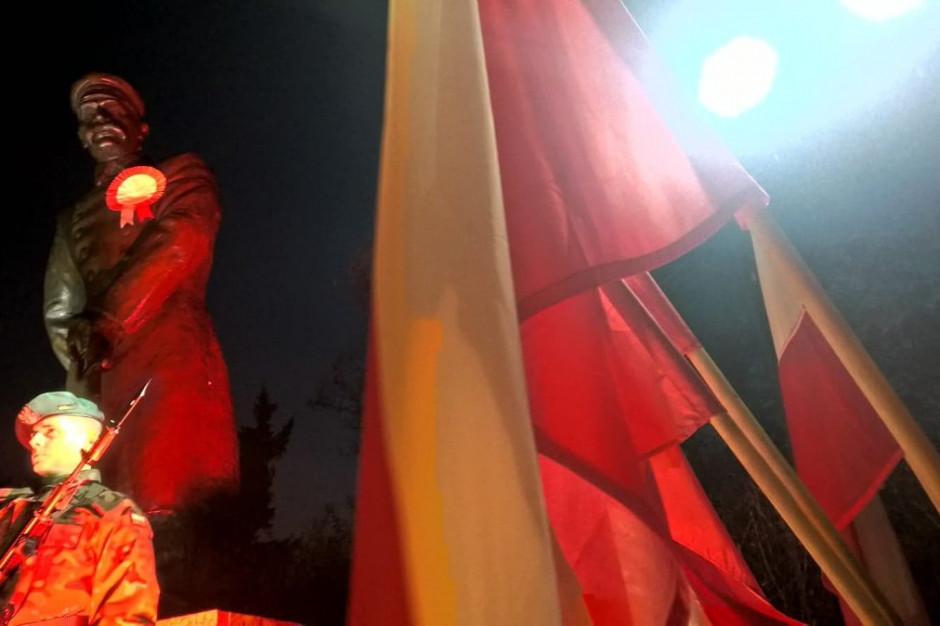 Toruń: Uroczystości w przeddzień 100. rocznicy odzyskania niepodległości
