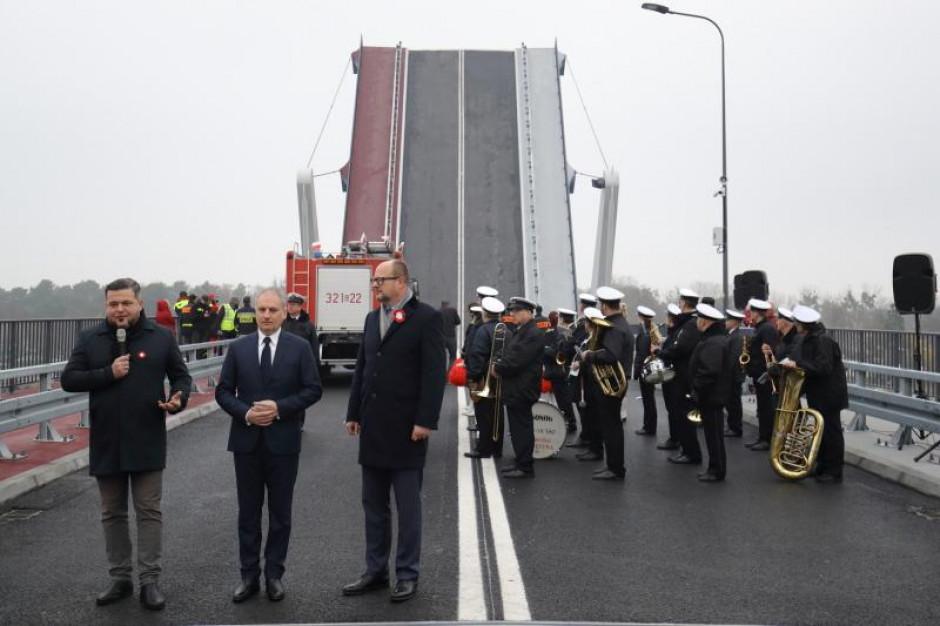 Most 100-lecia Odzyskania Niepodległości Polski otwarty