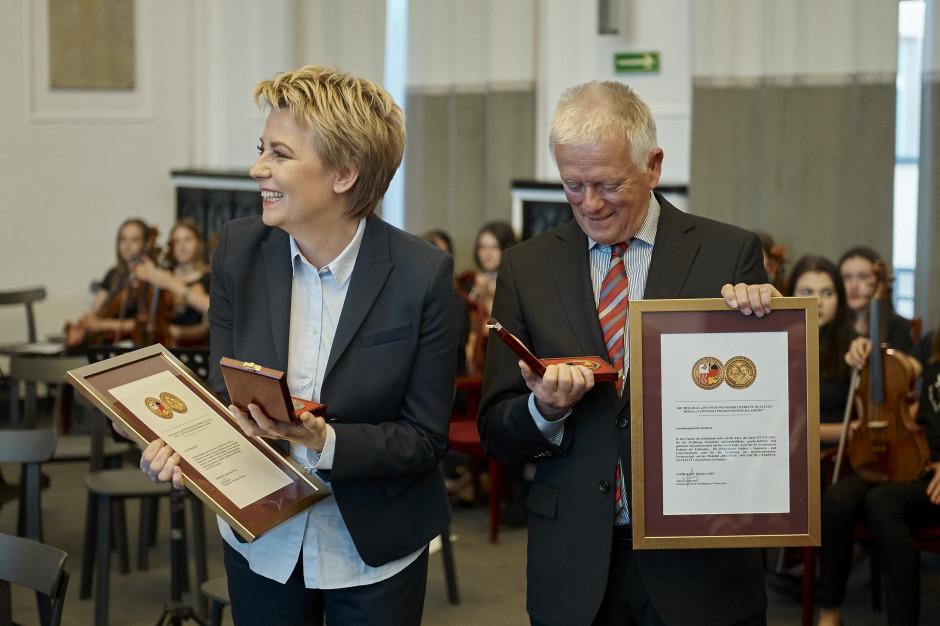 Hannę Zdanowską uhonorowano polsko-niemieckim medalem