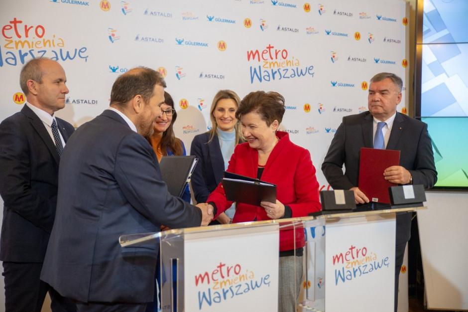 Podpisano ostatnią umowę na rozbudowę II linii metra