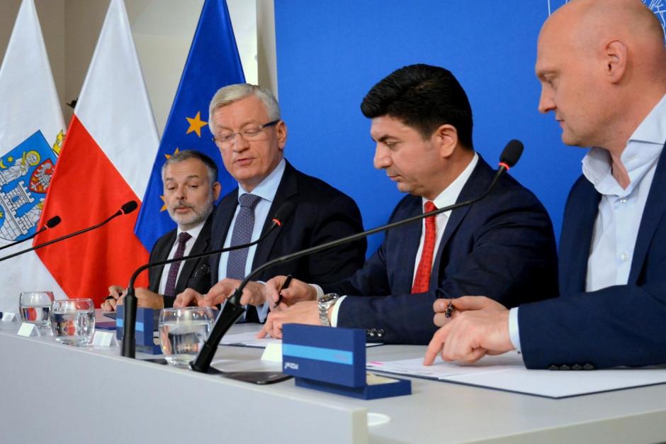Poznań: podpisano umowę na budowę trasy tramwajowej na Naramowice