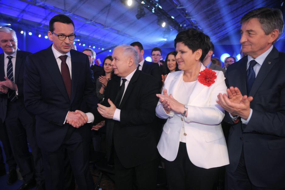 Kantar Public: PiS jako Zjednoczona Prawica - 34 proc., PO jako Koalicja Obywatelska - 24 proc.