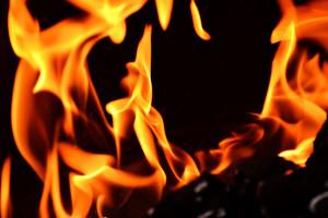 Lipowa: Pożar w bazie transportowej