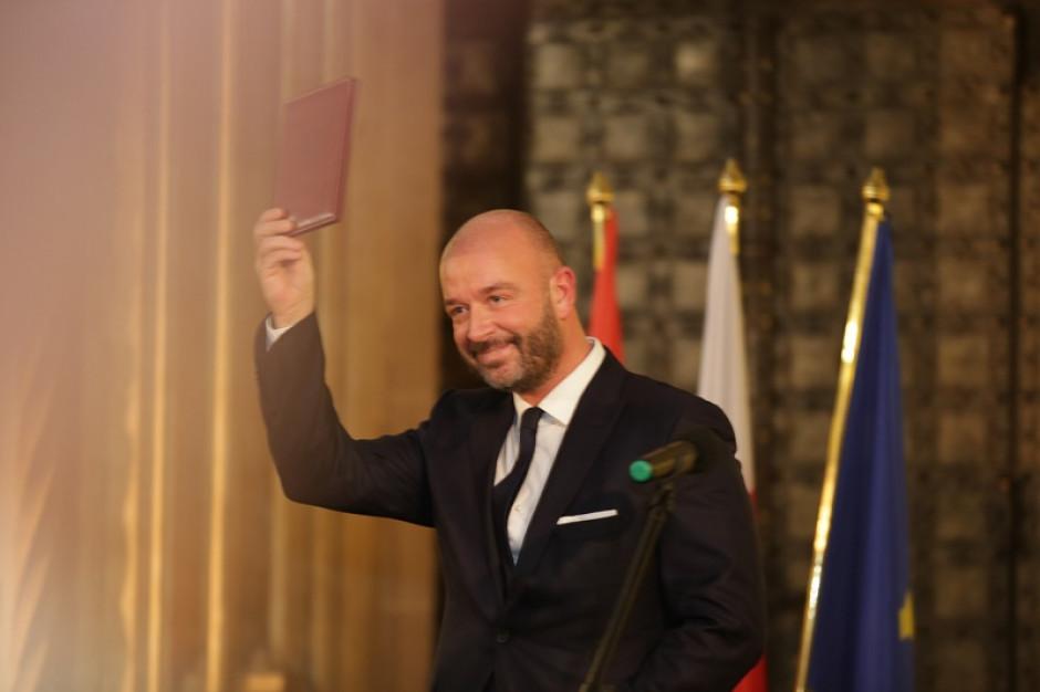 Wrocław: Jacek Sutryk zaprzysiężony na prezydenta