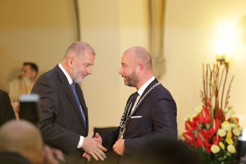 Jacek Sutryk zastąpił na stanowisku prezydenta Rafała Dutkiewicza, który rządził miastem przez 16 lat (fot.wroclaw.pl)