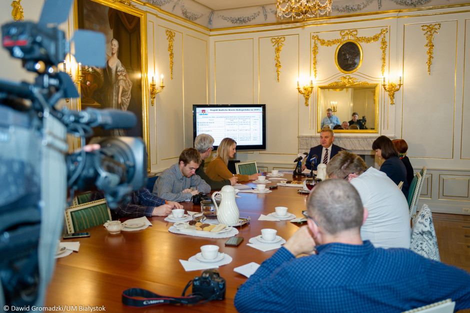 Białystok zaprezentował budżet na 2019 r. Jakie dochody i wydatki?