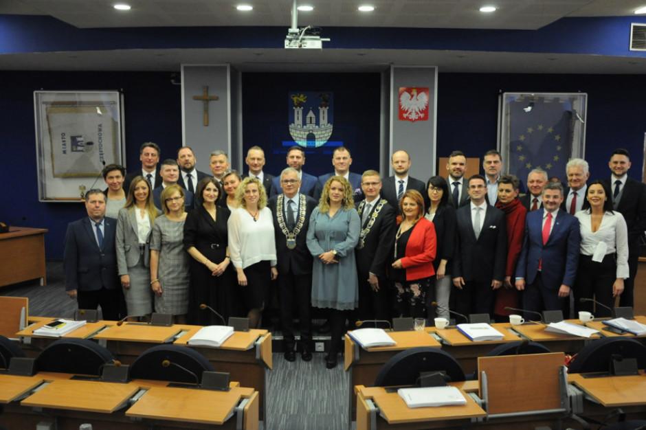Rada Miasta Częstochowy wybrała przewodniczącego i jego zastępców