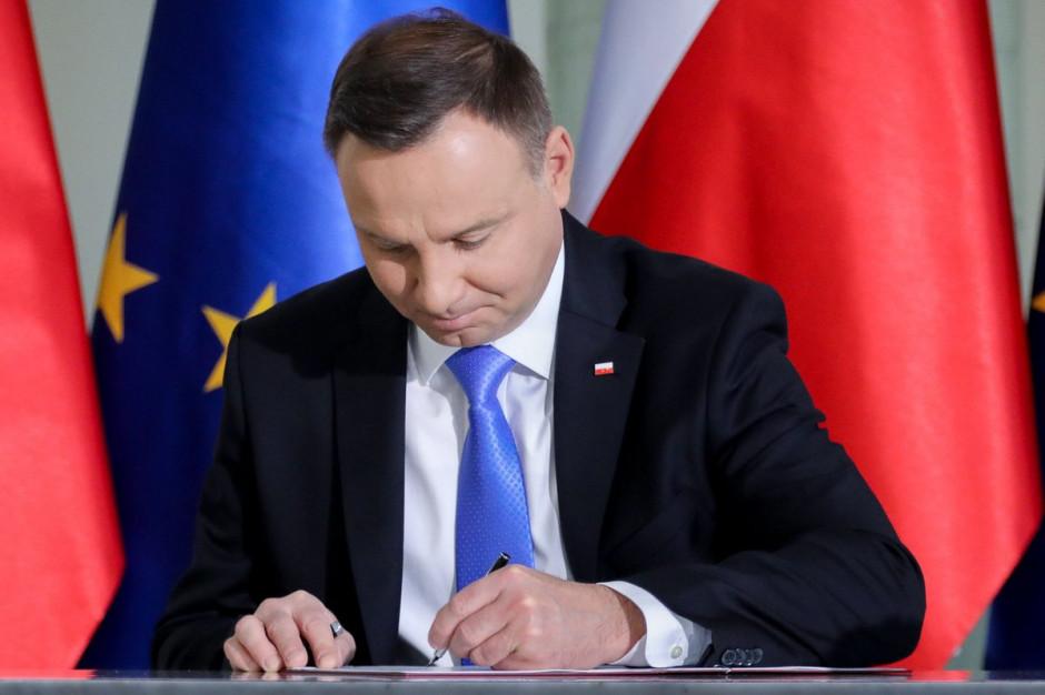 Prezydent skierował do Sejmu projekt ustawy o centrum usług społecznych