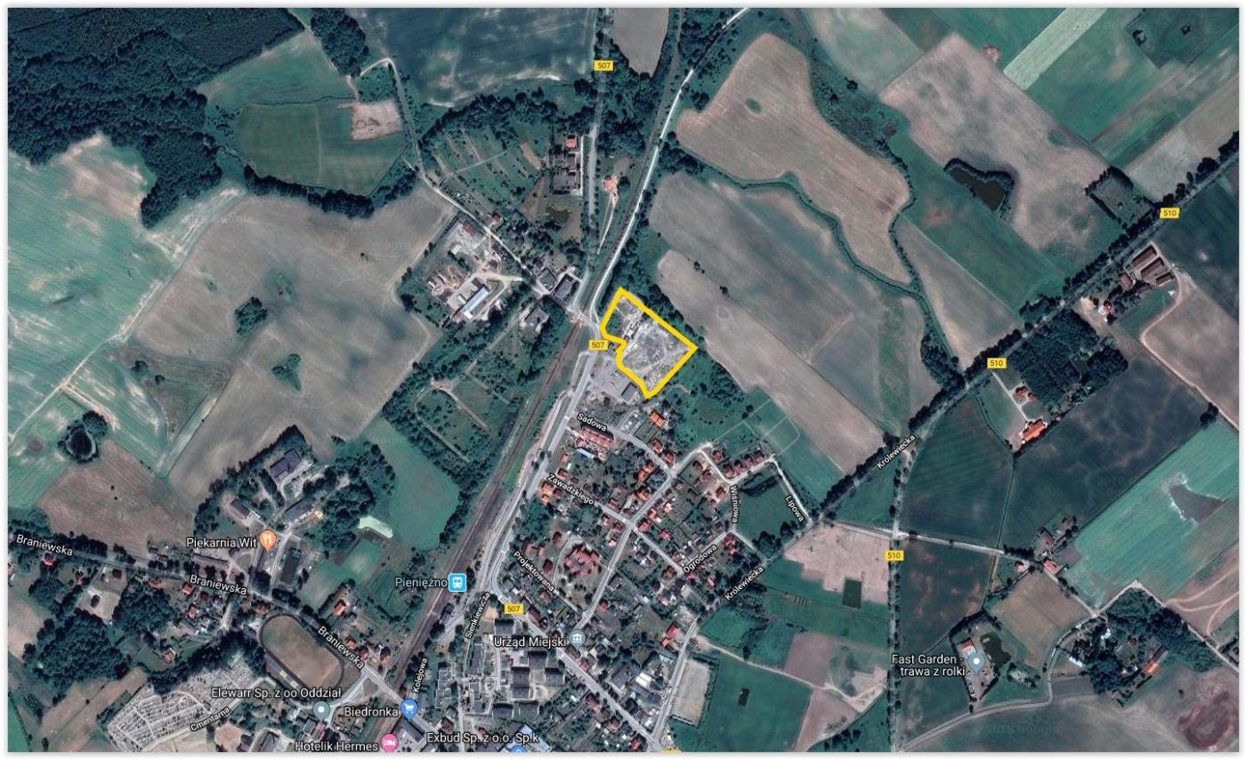 Wydana zgoda jest pierwszą decyzją strefową, jaka będzie zrealizowana w przygranicznym Pieniężnie (fot.wmsse.com.pl)