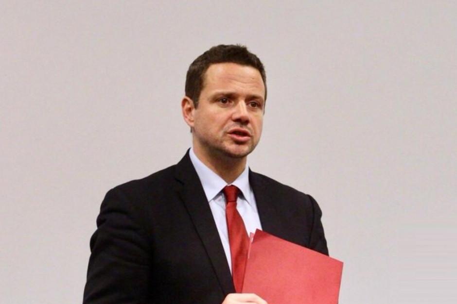 Rafał Trzaskowski: Nie będzie czystki w urzędzie, ale będą zmiany