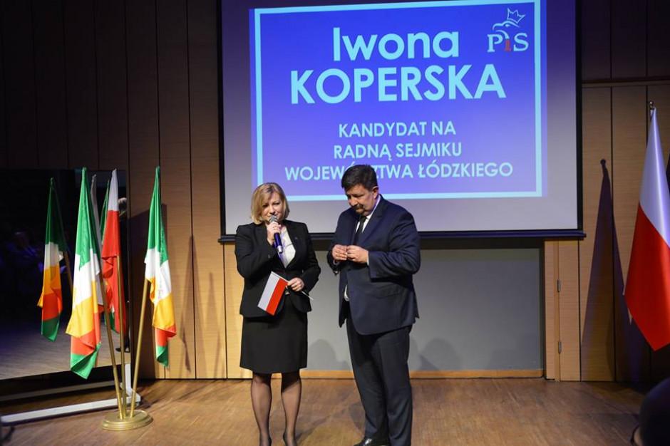 Iwona Koperska z PiS przewodniczącą sejmiku województwa łódzkiego