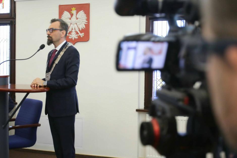 Toruń: Marcin Czyżniewski przewodniczącym rady miasta