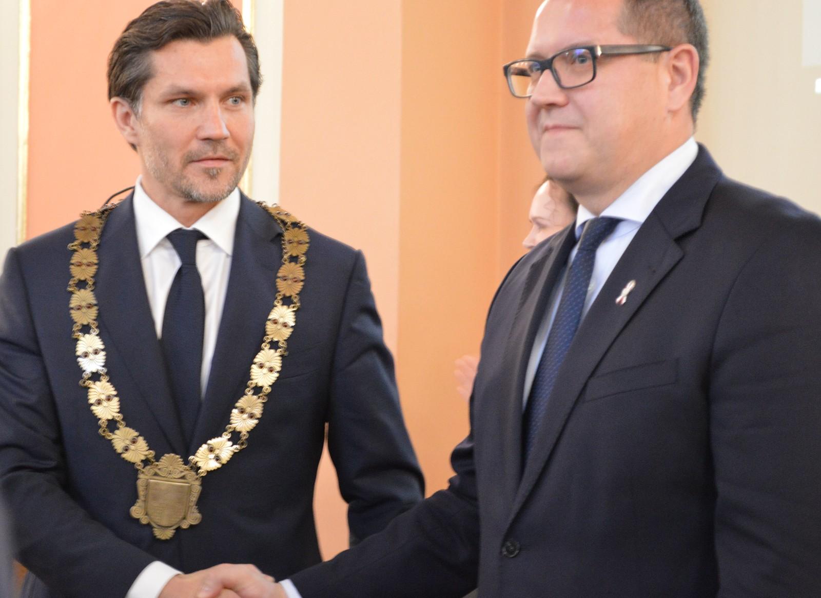 W wyborach samorządowych wygrała nadzieja, energia i optymizm nad stagnacją i rezygnacją - powiedział Krystian Kinastowski, nowy prezydent Kalisza (fot.kalisz.pl)