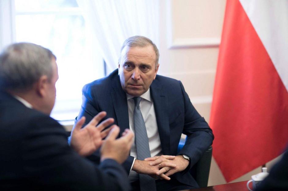 Schetyna: Wojciech Kałuża zdradził ideały i wyborców