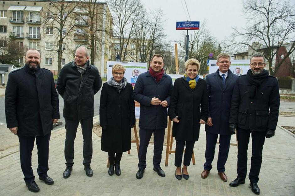 Hanna Zdanowska przedstawiła swoich współpracowników