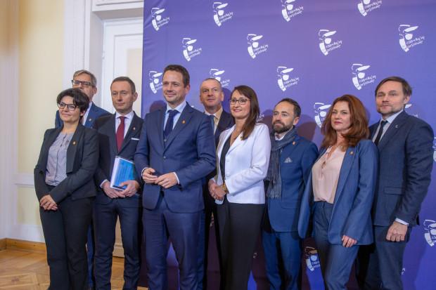 Rafał Trzaskowski przedstawił swoich współpracowników (fot. warszawa.eu)