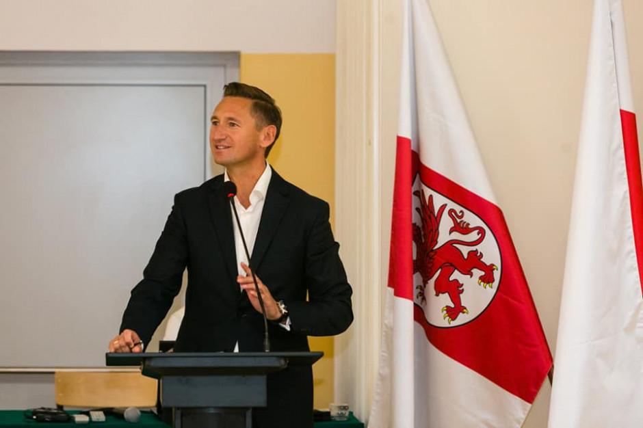 Olgierd Geblewicz marszałkiem województwa zachodniopomorskiego