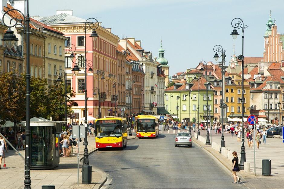 W weekend w Warszawie utrudnienia w ruchu