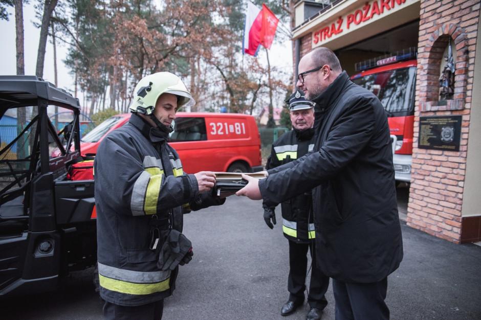 Specjalistyczny pojazd dla strażaków ze Świbna