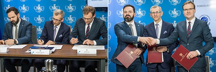 Uroczystość podpisania porozumienia (fot. NIK)