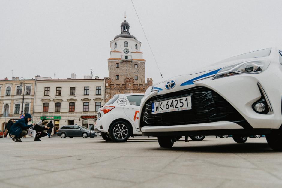 Lublin wspiera CarSharing. Samorząd stawia na ekologiczne auta