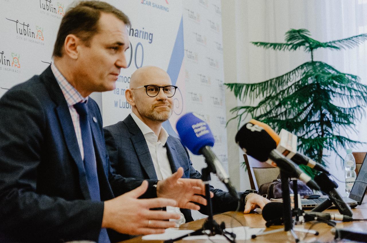 O podjęciu współpracy, firma Panek i władze Lublina poinformowały podczas konferencji prasowej (fot. mat. prasowe firmy Panek)