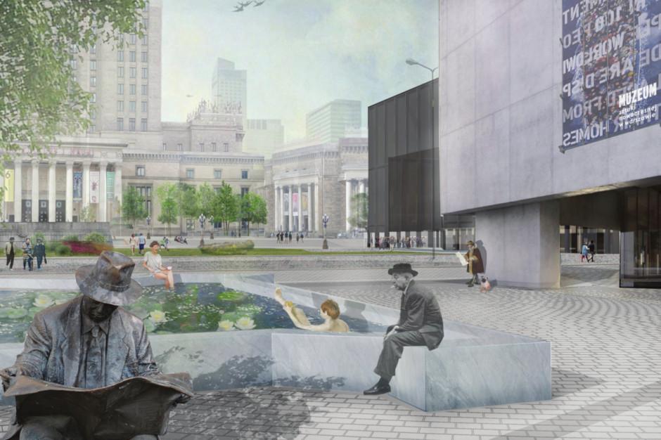Rafał Trzaskowski zaprezentował koncepcję zagospodarowania terenu wokół Pałacu Kultury i Nauki
