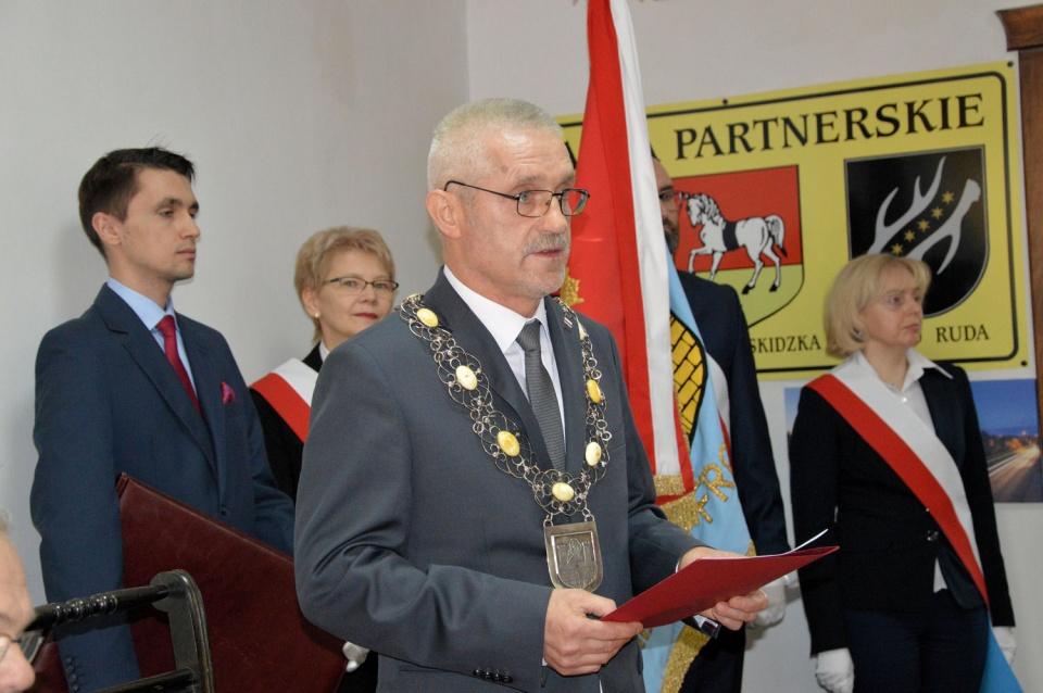 Małgorzatę Wrońską na stanowisku burmistrza zastąpił Zbigniew Pietkiewicz (fot. UM Frombork)