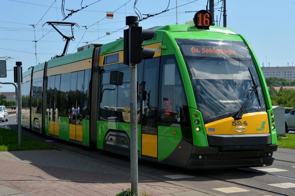 Zderzenie dwóch tramwajów na Grunwaldzie w Poznaniu