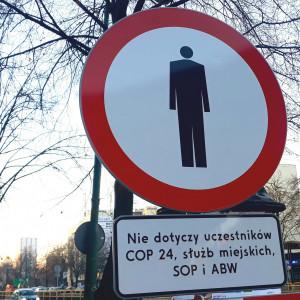 Ze względu na liczbę planowanych spotkań COP24 i ich uczestników, wprowadzane mogą być też częściowe wyłączenia z ruchu pieszego i kołowego odcinków innych ulic w Katowicach. (fot. Aneta Kaczmarek/PTWP)