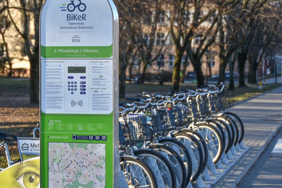 Białystok: Rowery miejskie wrócą na wiosnę