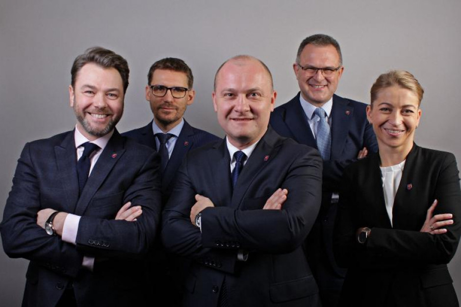 Prezydent Szczecina zaprezentował swoich zastępców