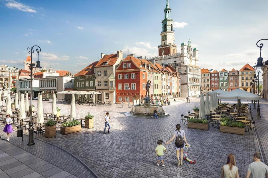 Poznań: Jest szansa na dofinansowanie przebudowy Starego Rynku