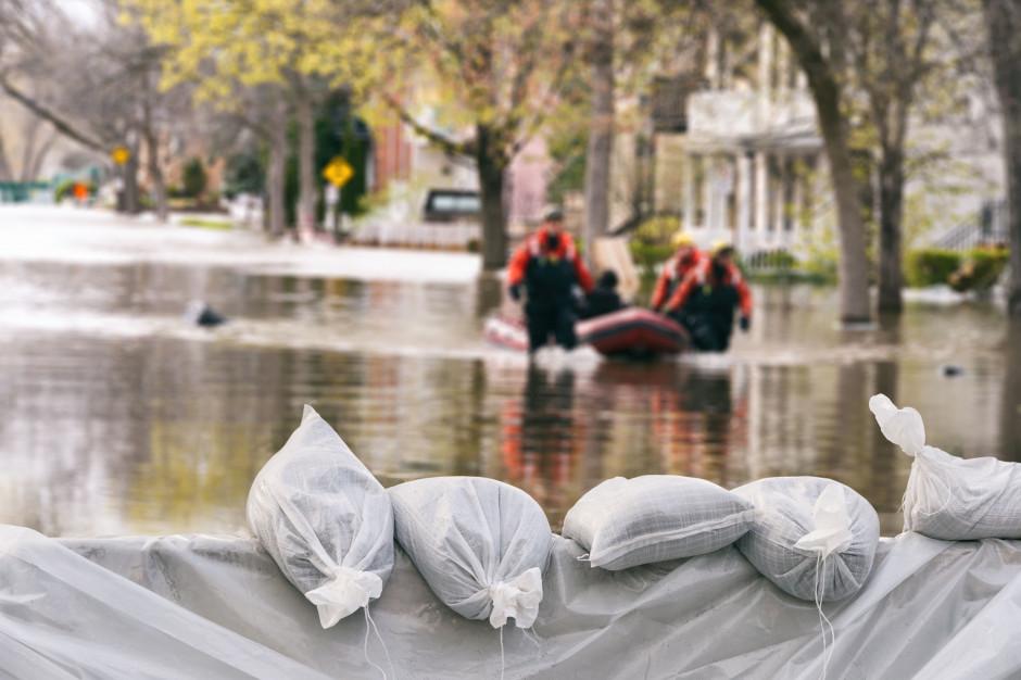 Ryzyko powodziowe. Wody Polskie sporządziły ocenę ryzyka w poszczególnych województwach