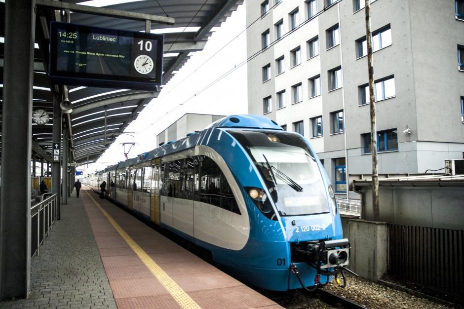 Śląskie: Więcej pociągów w nowym rozkładzie jazdy od 9 grudnia