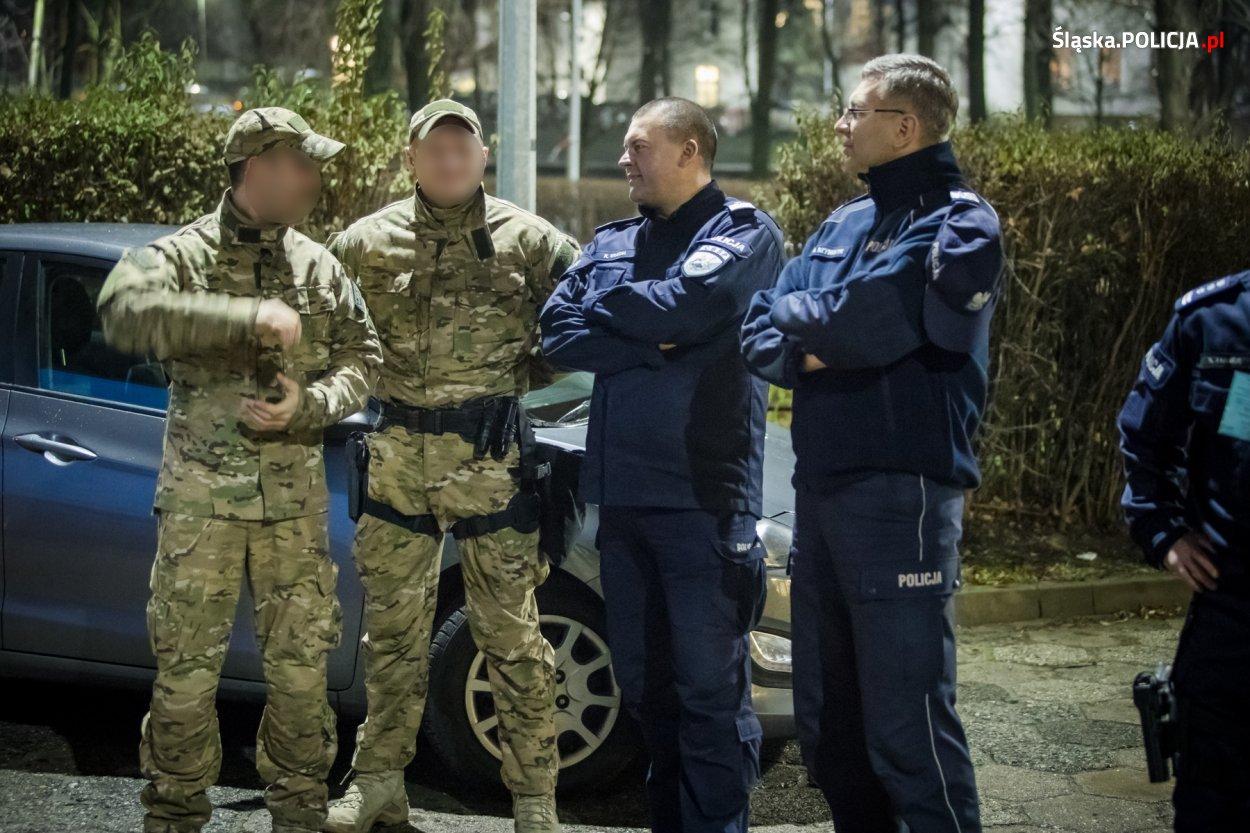 Do zabezpieczenia szczytu skierowano około 8 tys. policjantów (fot.slaska.policja.pl)