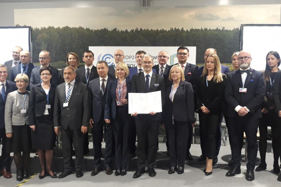 COP24. Te polskie miasta podpisały Deklarację Katowicką i przystąpiły do sieci NAZCA