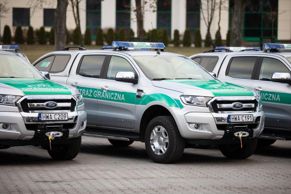 120 nowych samochodów dla Straży Granicznej