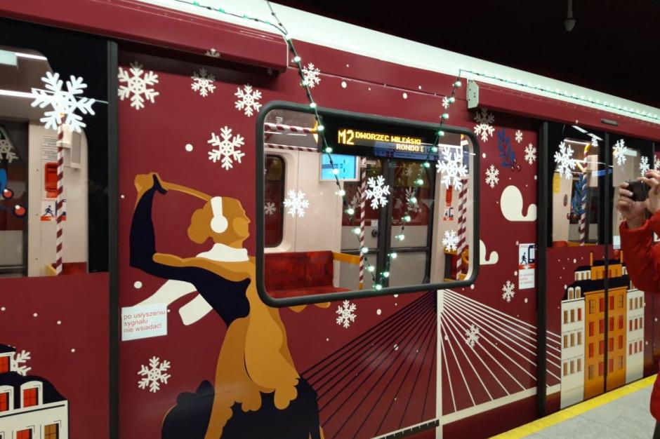 Rusza świąteczny pociąg metra