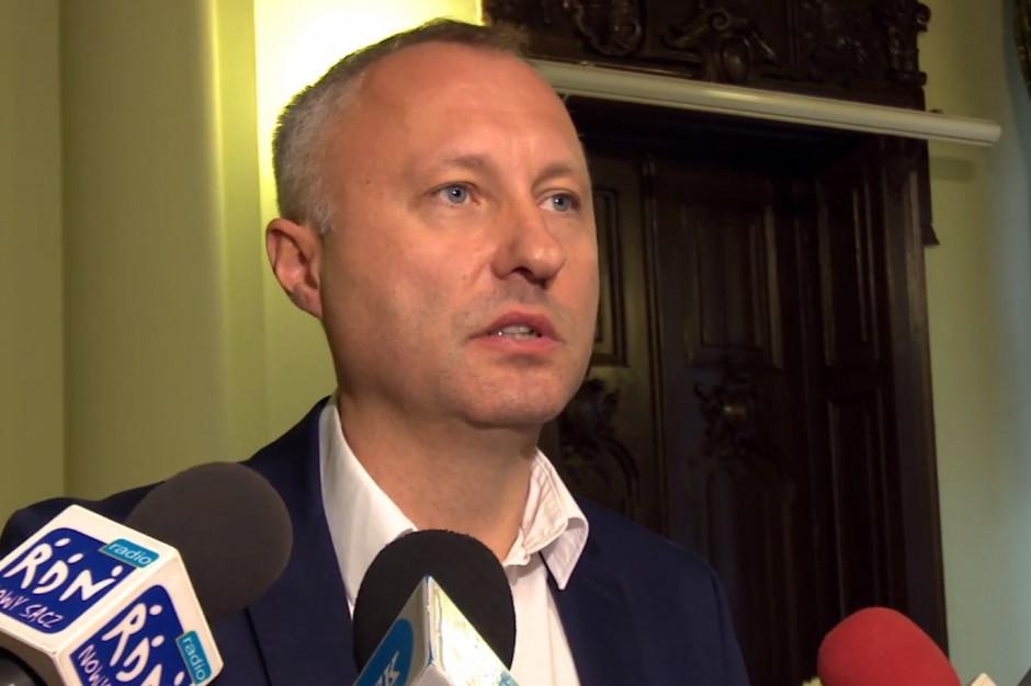 Ludomir Handzel na inaugurację kadencji 2018-2023. Budżet Nowego Sącza jest w złym stanie