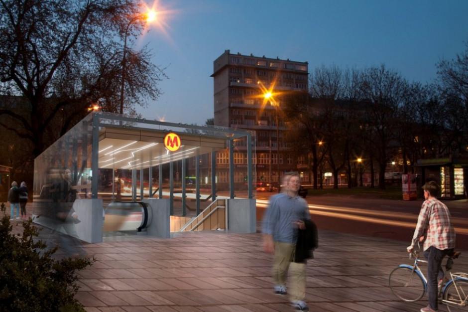 Warszawscy radni zatwierdzili nazwy pięciu z sześciu stacji na budowanym odcinku II linii metra