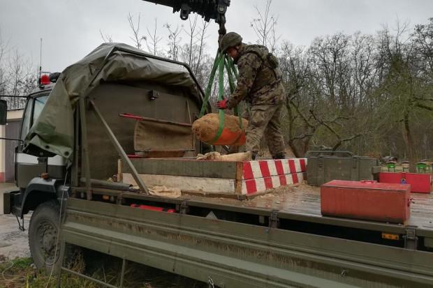 miejsce detonacji to poligonie w Drawsku Pomorskim (Fot. 5. Pułk Inżynieryjny)
