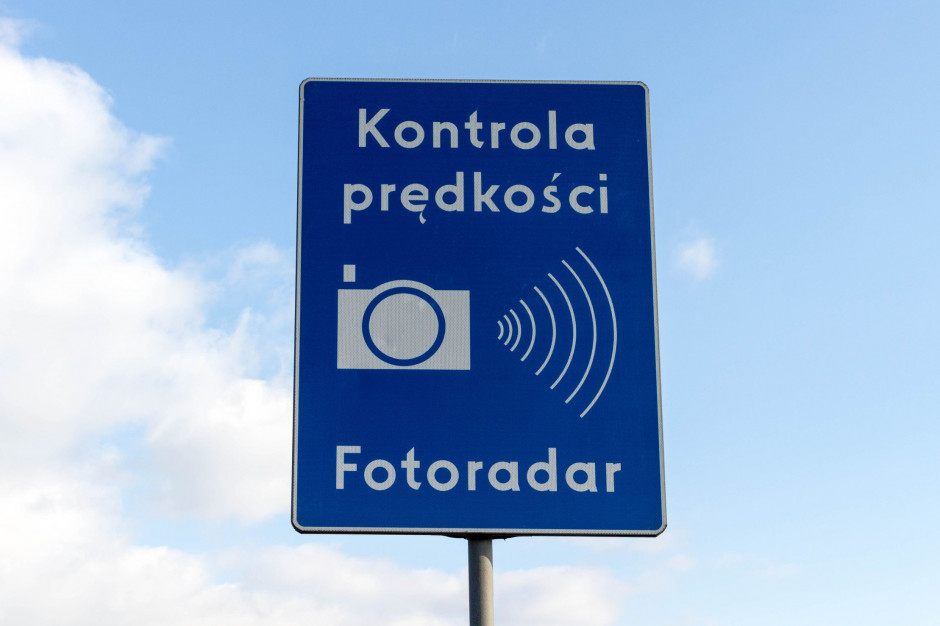 Więcej fotoradarów na drogach