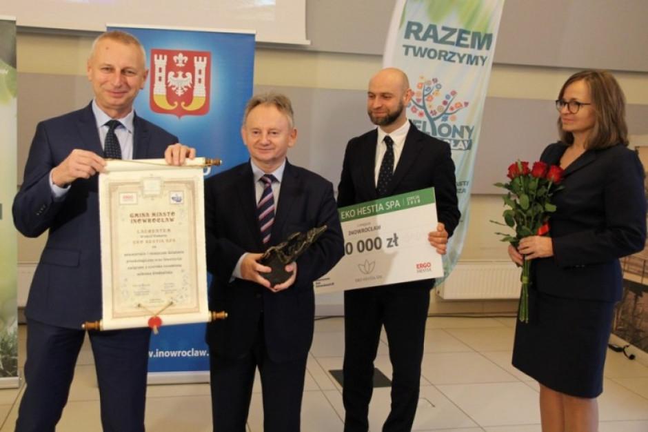 Inowrocław laureatem konkursu Eko Hestia SPA