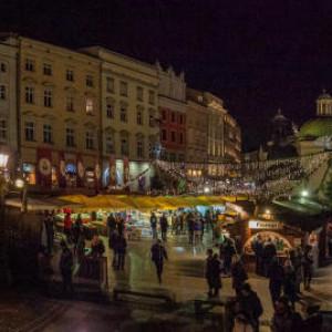 Kraków świąteczny (fot. Bogusław Świerzowski / krakow.pl)