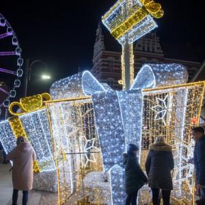 Spacer po Gdańsku wśród świątecznych iluminacji (fot. Dominik Paszliński/www.gdansk.pl)
