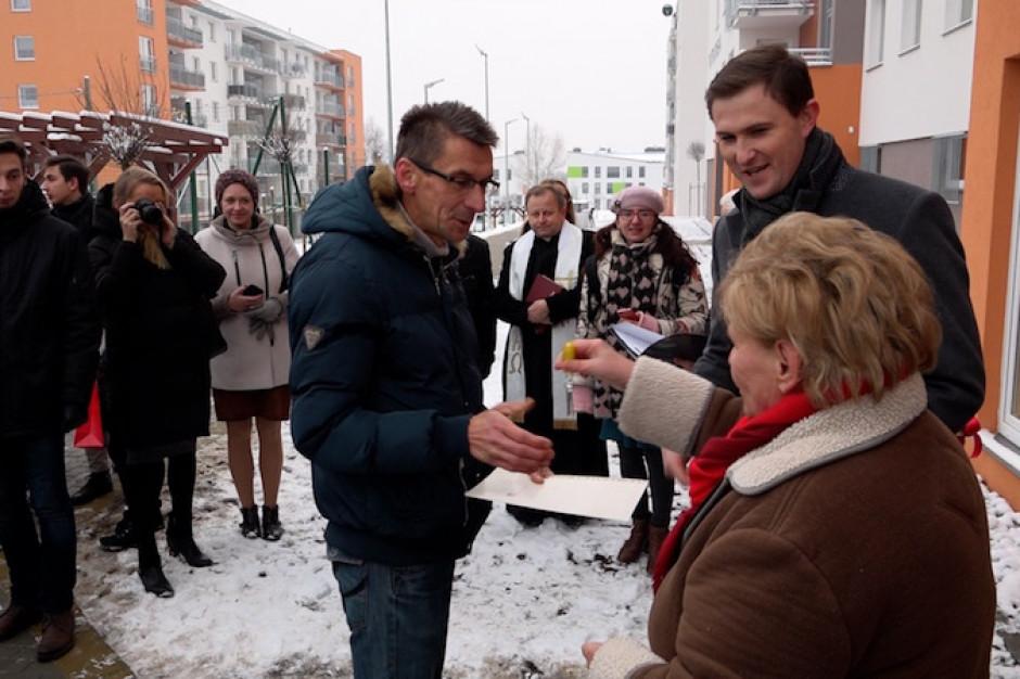 55 rodzin w Gdańsku otrzymało klucze do nowych mieszkań