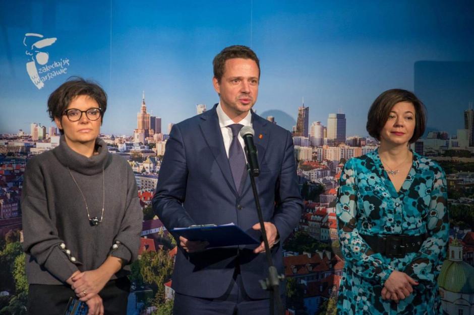 Klub Koalicji Obywatelskiej obraduje z Trzaskowskim na temat bonifikat
